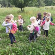 Medvíďata a Lištičky - 2. týden v Lesní školce
