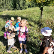 Medvíďata a Lištičky - 3. týden v Lesní školce